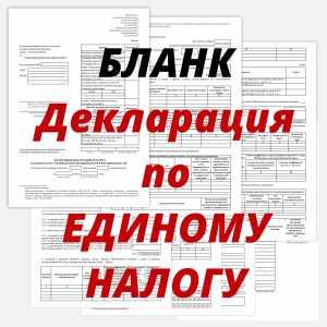 Скачать бланк декларации по ЕН РБ