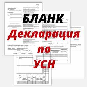 Скачать декларацию по УСН РБ